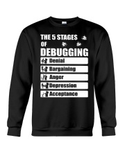 The 5 stages of debugging Crewneck Sweatshirt thumbnail
