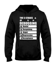 The 5 stages of debugging Hooded Sweatshirt thumbnail