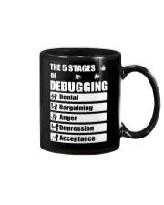 The 5 stages of debugging Mug thumbnail