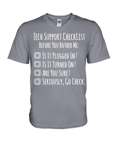 Tech Support Checklist