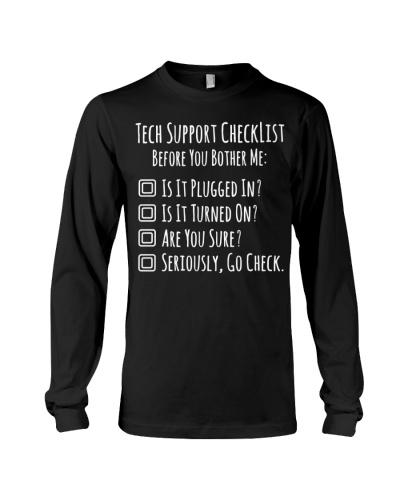 Tech Support Checklist