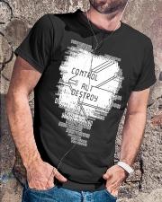 Control-Alt-Destroy Classic T-Shirt lifestyle-mens-crewneck-front-4