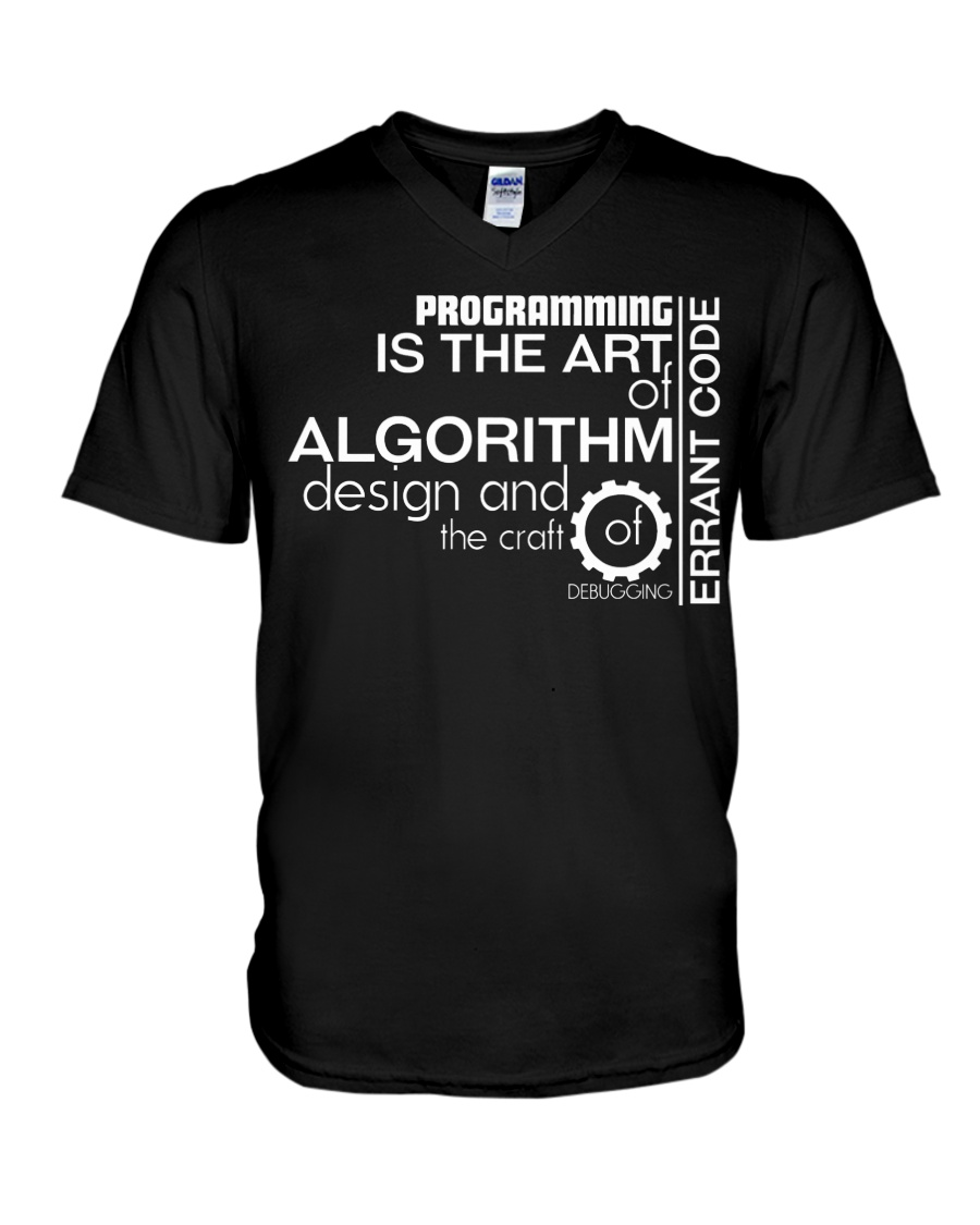 Art of code V-Neck T-Shirt