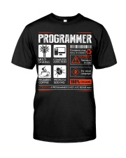 Programmer Classic T-Shirt front
