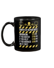 Computer Repair Rates Mug back