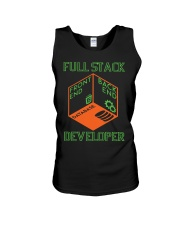 Full Stack Developer Unisex Tank thumbnail