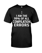 COMPILATION ERRORS Classic T-Shirt front
