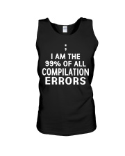 COMPILATION ERRORS Unisex Tank tile