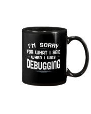 I'm sorry for what i said when i was debugging Mug tile