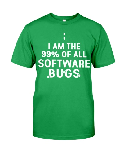 I am the 99 percent of all software bugs