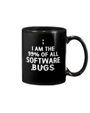I am the 99 percent of all software bugs Mug tile