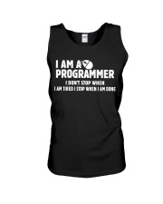 Programmer Stop When Done Unisex Tank thumbnail