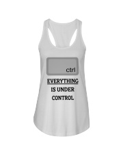 Everything is under control Ladies Flowy Tank thumbnail