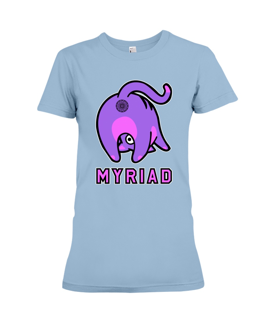 Myriad Cat Premium Fit Ladies Tee