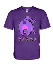 Myriad Cat V-Neck T-Shirt thumbnail