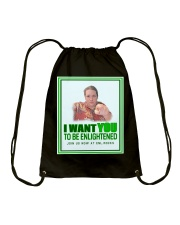 Uncle d0boy wants you to be Enlightened  Drawstring Bag thumbnail