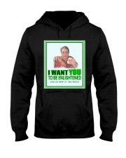 Uncle d0boy wants you to be Enlightened  Hooded Sweatshirt thumbnail