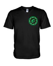 Enlightened Tacos V-Neck T-Shirt thumbnail