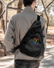 Resistance Pride  Sling Pack garment-embroidery-slingpack-lifestyle-05