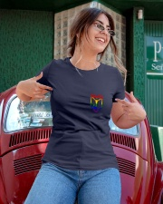 Resistance Pride  Ladies T-Shirt apparel-ladies-t-shirt-lifestyle-01