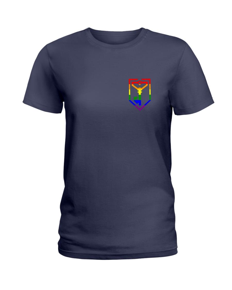 Resistance Pride  Ladies T-Shirt