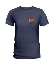 Resistance Pride  Ladies T-Shirt front
