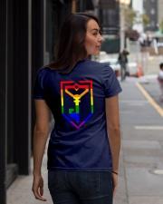 Resistance Pride  Ladies T-Shirt lifestyle-women-crewneck-back-1