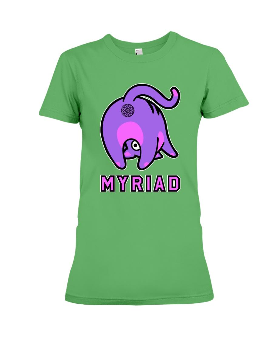 Myriad Cat Premium Fit Ladies Tee