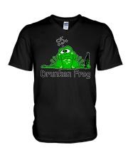 Drunken Frog V-Neck T-Shirt thumbnail