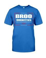 Broo Omgkitties 2020 Campaign Shirt Premium Fit Mens Tee front