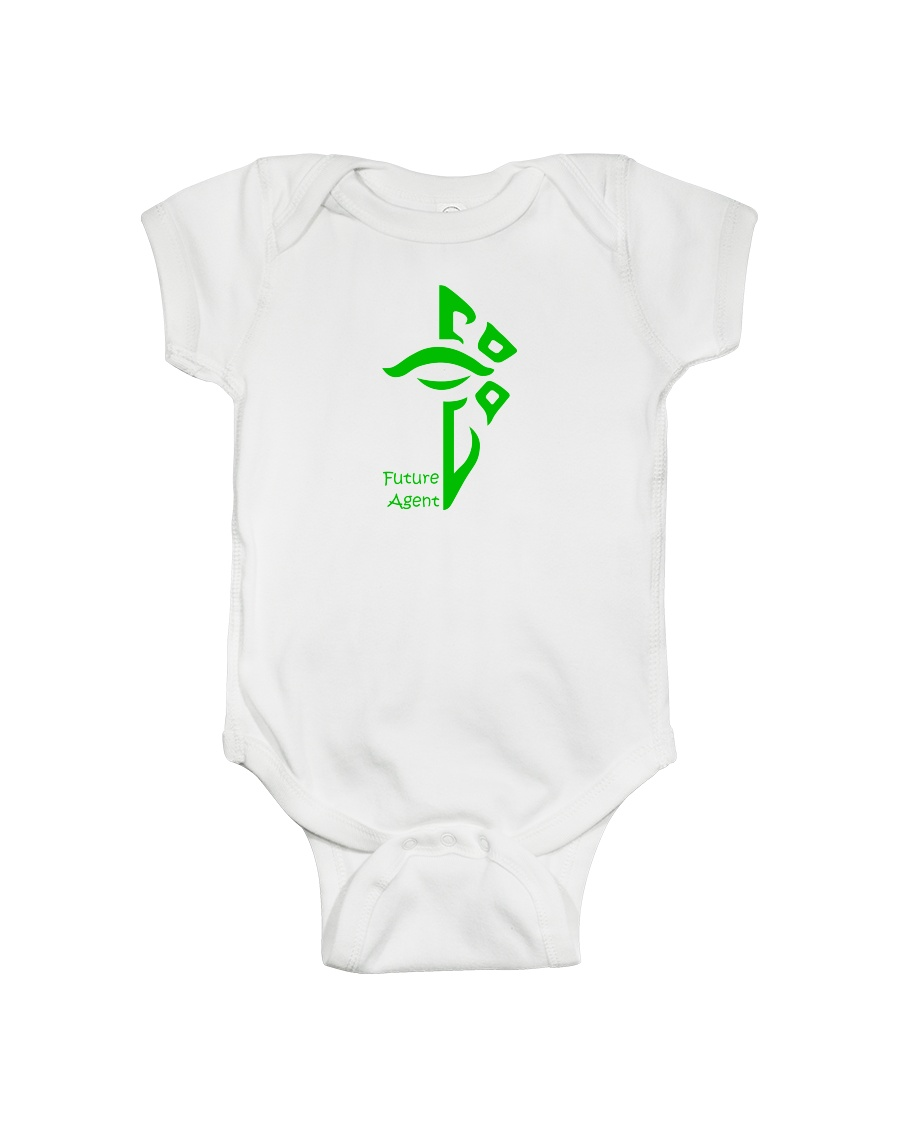 Future Enlightened Agent Onesie