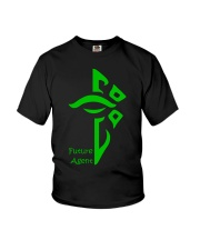 Future Enlightened Agent Youth T-Shirt thumbnail