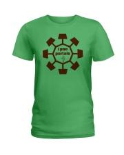 Lil Portal Pooper Ladies T-Shirt thumbnail