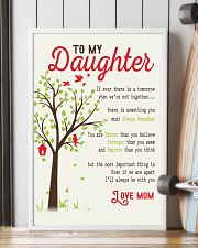To My Daughter - Mother's Day 16x24 Poster lifestyle-poster-4