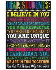 I Believe In You 11x17 Poster front