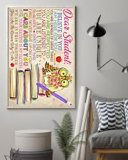 Dear Student Owl Style 11x17 Poster lifestyle-poster-1