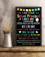 I Am Your School Principal 11x17 Poster lifestyle-poster-3