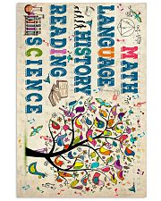 Math Language 11x17 Poster front