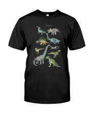 Dinosaurs  Classic T-Shirt front