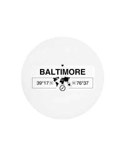 Baltimore Maryland Map Coordinates