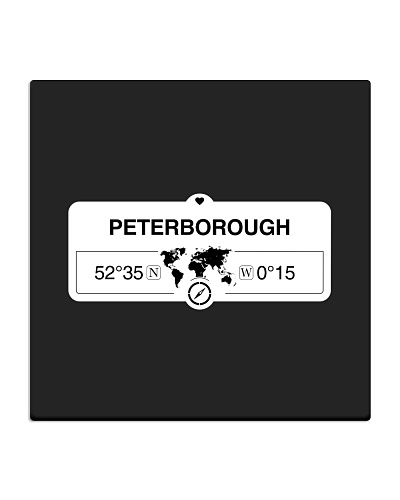 Peterborough England  GPS Map Coordinates