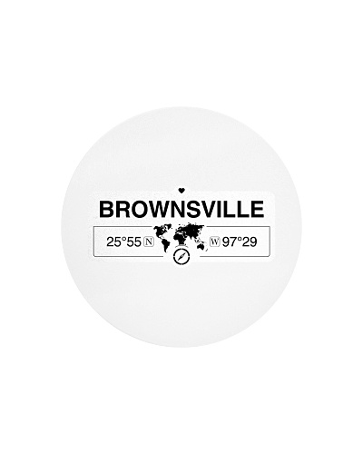 Brownsville Texas Map Coordinates