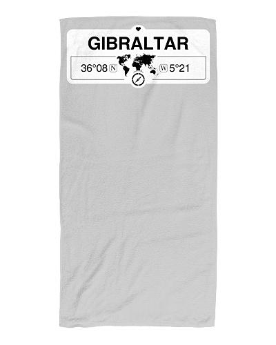 Gibraltar GPS Map Coordinates GPS