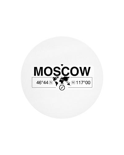 Moscow Idaho Map Coordinates