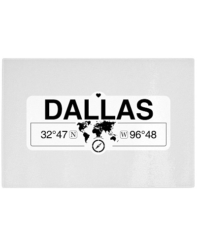 Dallas Texas Map Coordinates