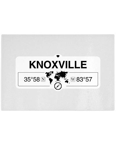 Knoxville Tennessee Map Coordinates