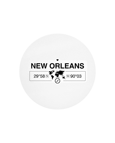 New Orleans Louisiana Map Coordinates