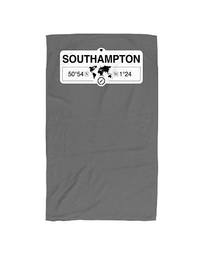 Southampton England GPS Coordinates