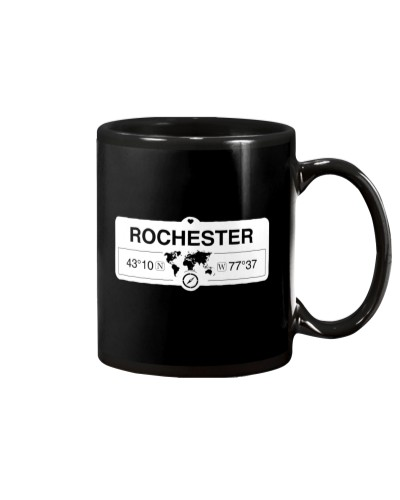 Rochester New York Map Coordinates