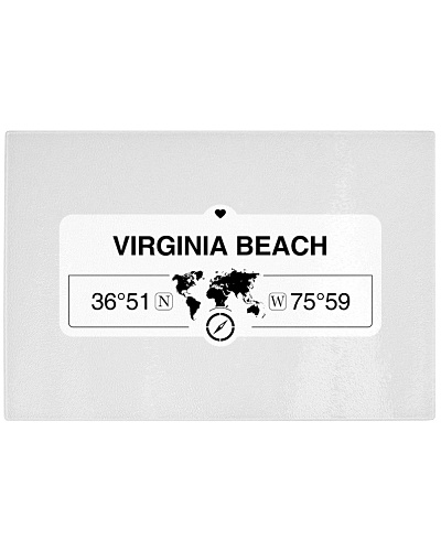 Virginia Beach map coordinates